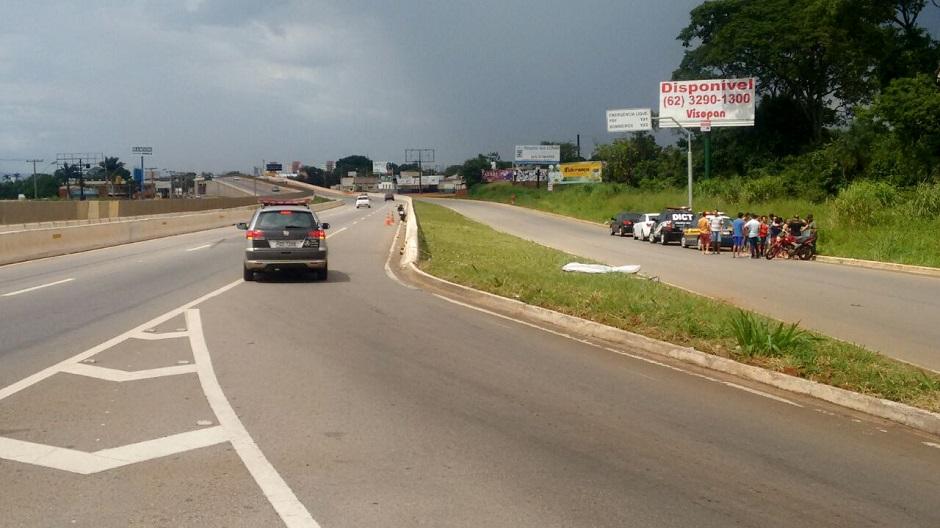 Motociclista morre em acidente na BR-060
