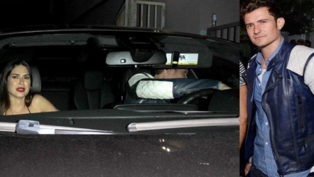 Thaila Ayala entra em festa com Anitta e sai dela com Orlando Bloom
