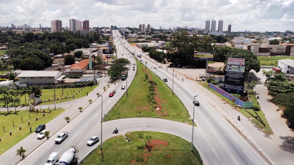 BR-153, entre Capital e Aparecida de Goiânia, será alterada