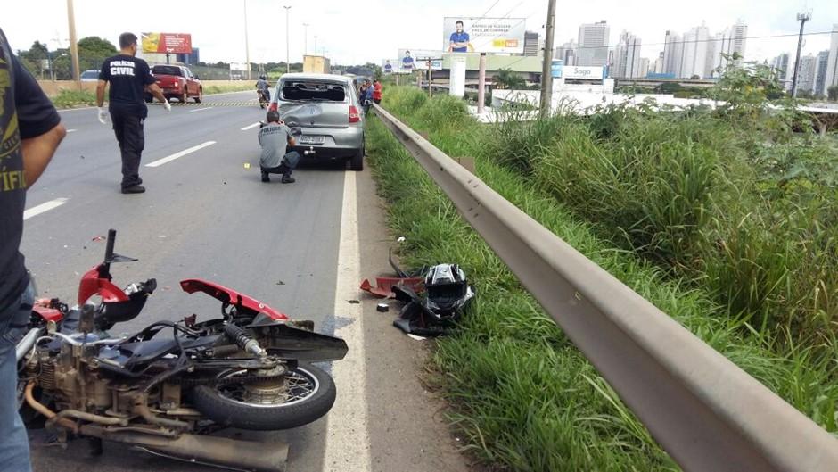 Oito pessoas morreram em acidentes de trânsito em Goiânia nesta semana