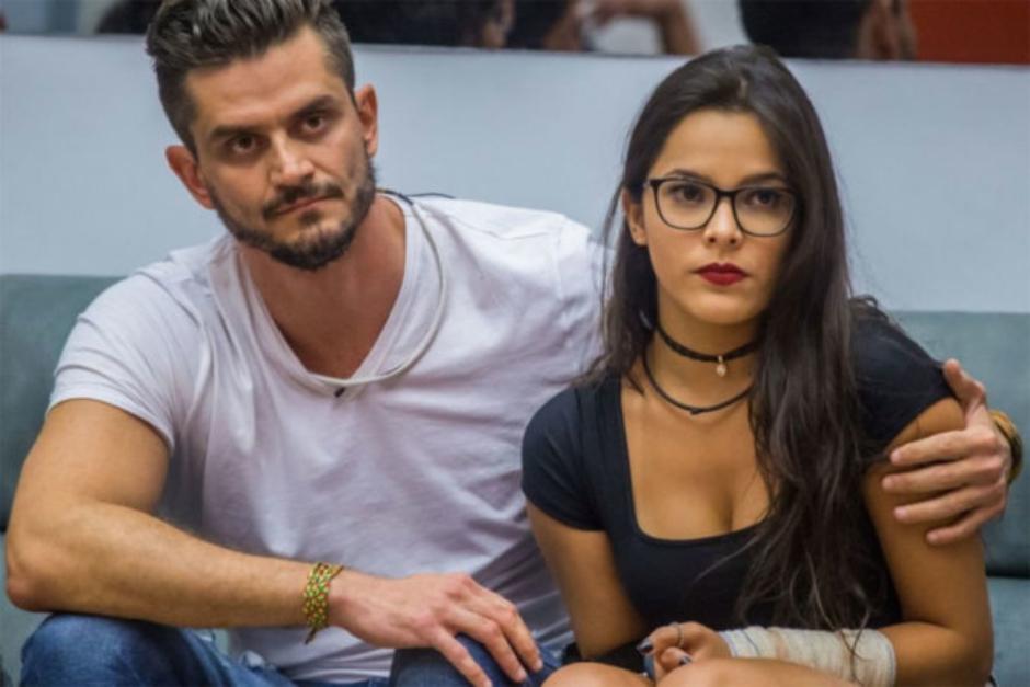 Marcos sugere terminar relacionamento com Emilly no BBB 17
