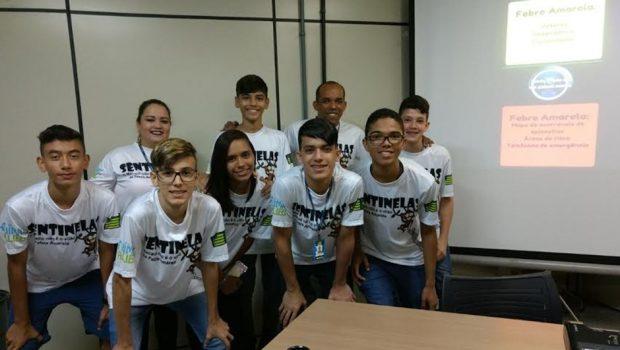 Estudantes de Goiânia desenvolvem aplicativo para auxílio no monitoramento da febre amarela