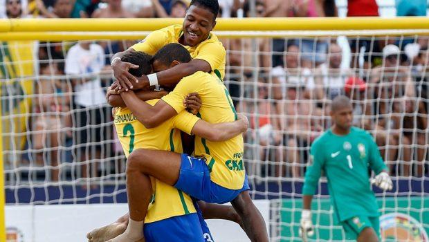 Brasil vai enfrentar Taiti e Polônia no Mundial de Futebol de Areia