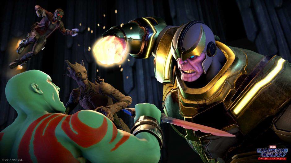 Thanos aparece no primeiro trailer do jogo dos Guardiões da Galáxia