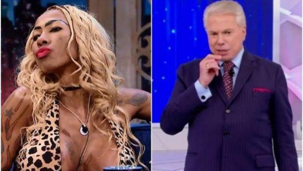 """Vai ter Inês Brasil no programa do Silvio Santos! """"Eu vou tirar toda a roupa"""", disse ele"""