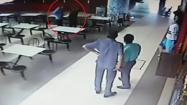 Em plena luz do dia, assaltante rouba arma de vigilante na rodoviária de Jataí