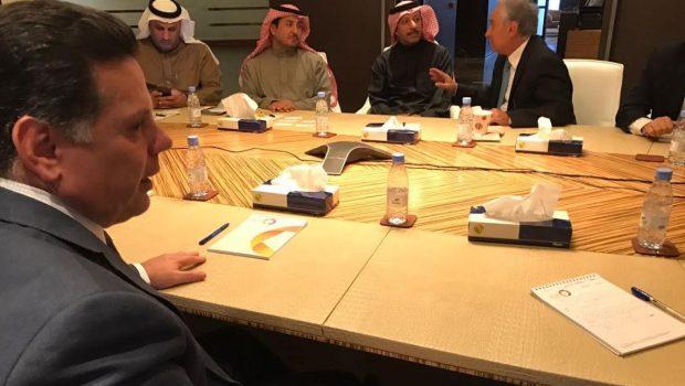 Marconi apresenta programa de privatizações a empresa saudita de investimentos
