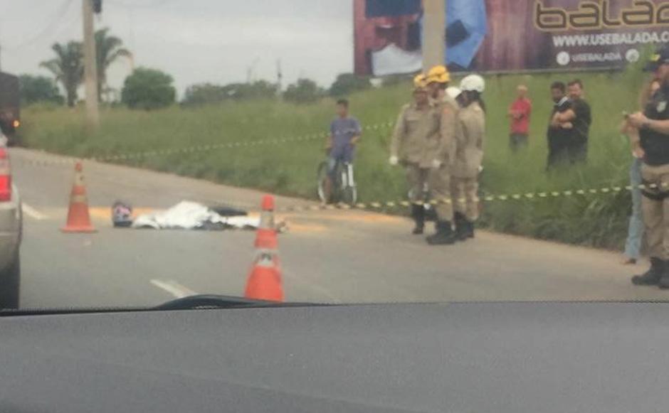 Motociclista morre em acidente no Anel Viário, em Goiânia