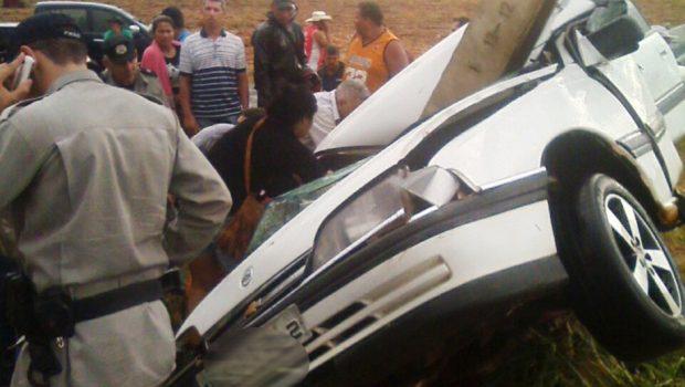 Casal morre em acidente na GO-070, em Goianira
