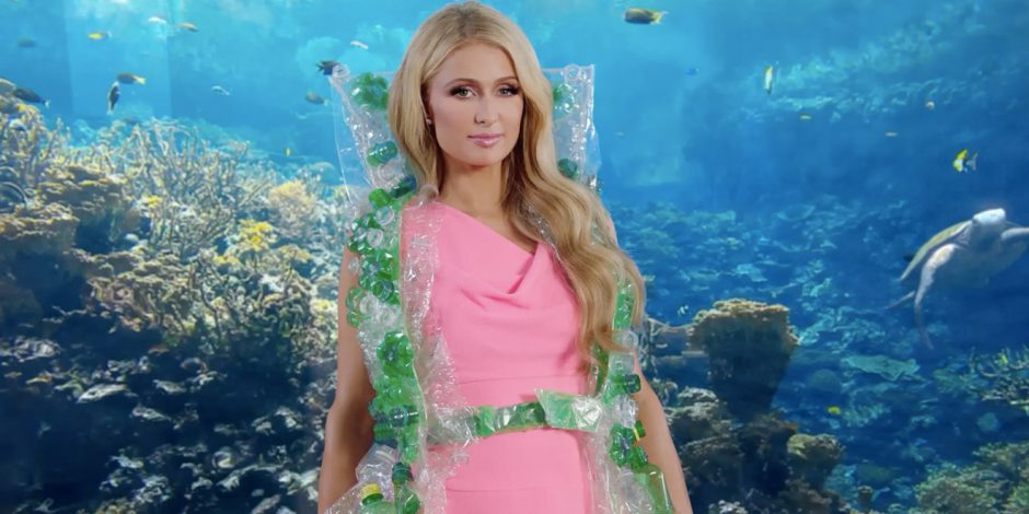 Paris Hilton inventa solução para excesso de lixo e escassez de água