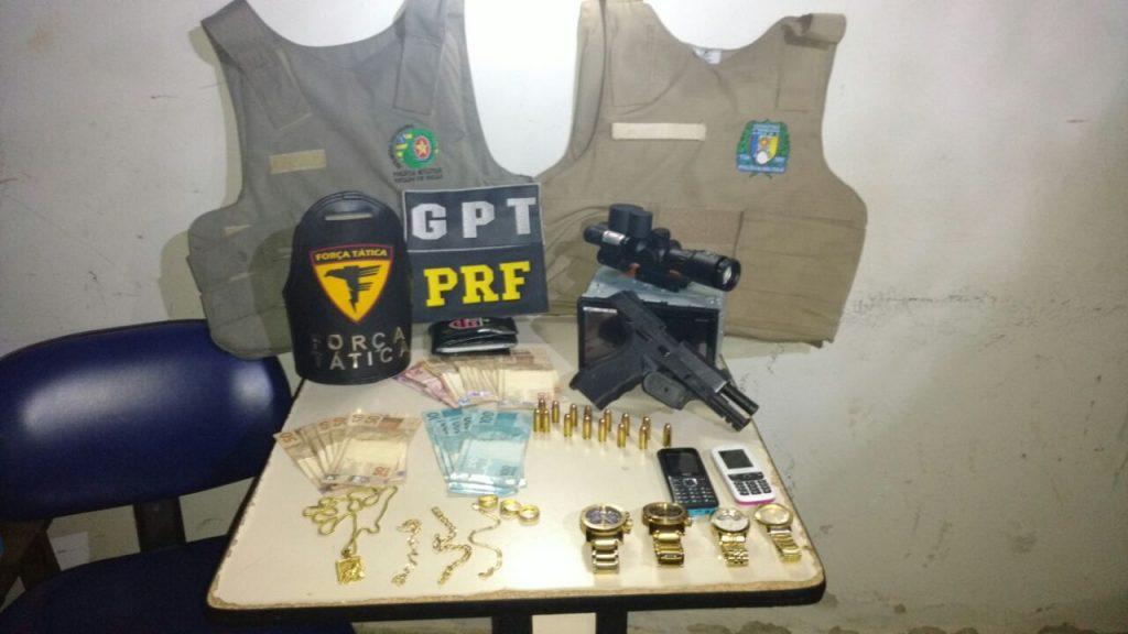 Operação conjunta de polícias de GO e TO resulta na prisão de homem com meia tonelada de drogas