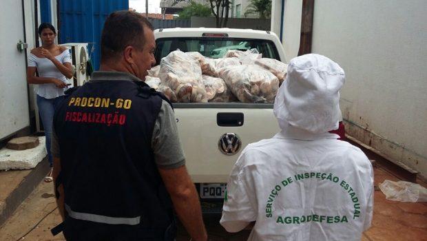 Recorde: Procon Goiás apreendeu em fevereiro 7,7 toneladas de produtos impróprios para consumo