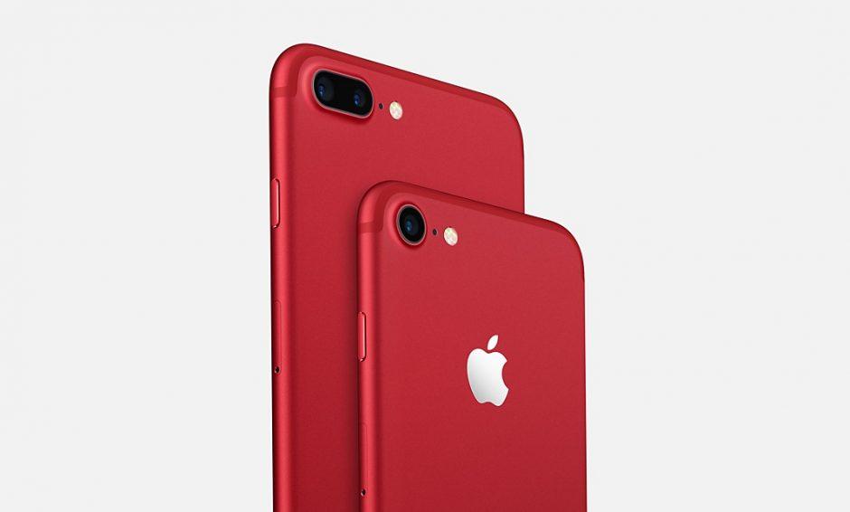 Apple lança iPhone vermelho para apoiar combate à Aids