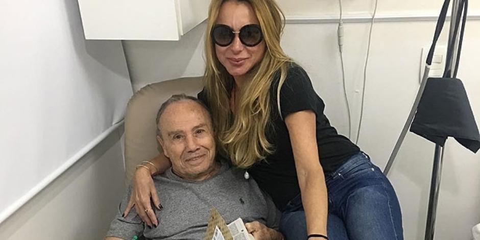 Stênio Garcia quebra duas costelas e é internado no Rio