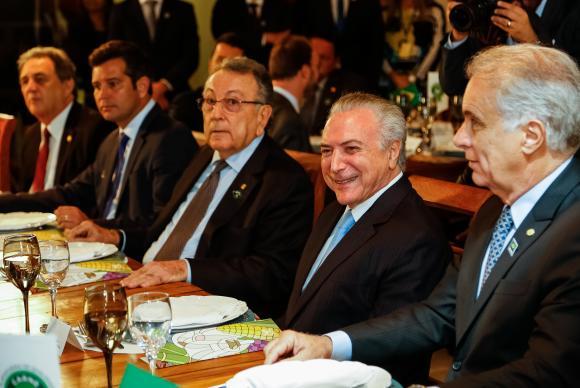 """Temer diz que crise envolvendo carne brasileira """"está sendo superada"""""""