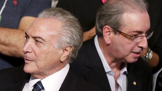 Cunha rebate Temer sobre impeachment de Dilma