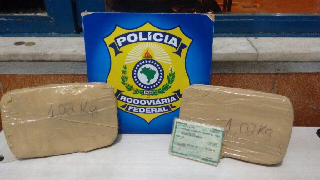 Homem é preso em Uruaçu por tráfico de droga e falsidade ideológica