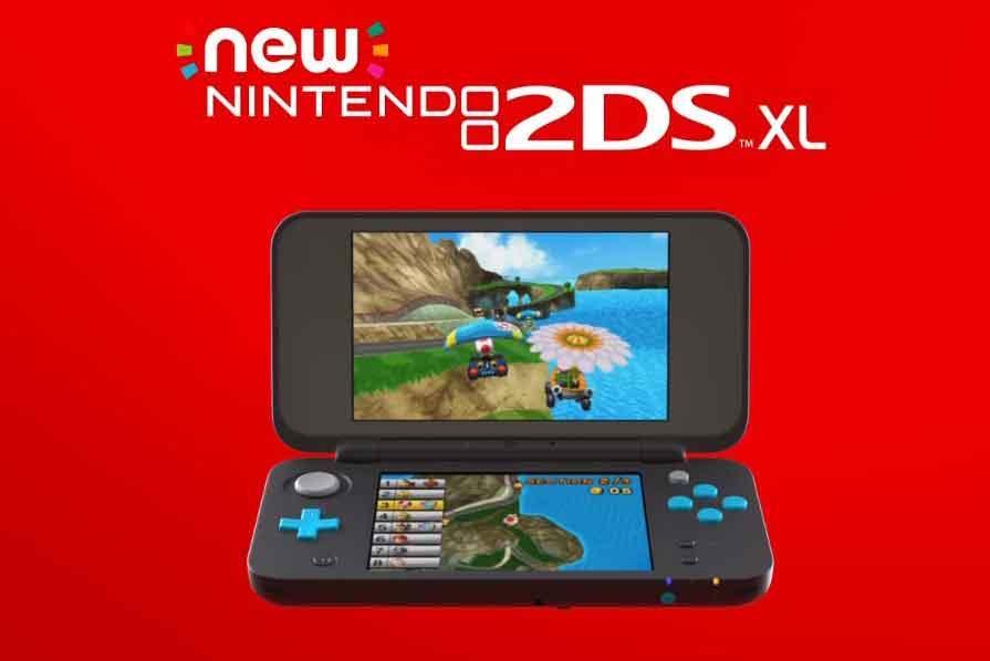 Nintendo anuncia o 2DS XL