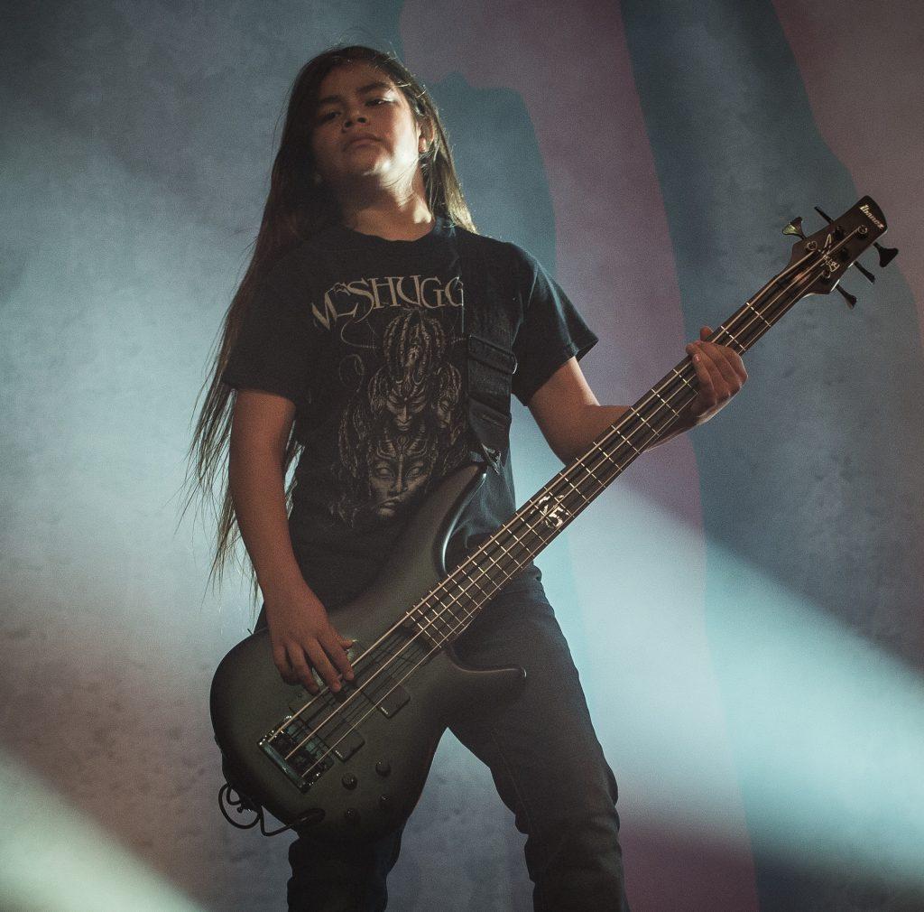 Korn se apresenta em São Paulo com baixista de 12 anos
