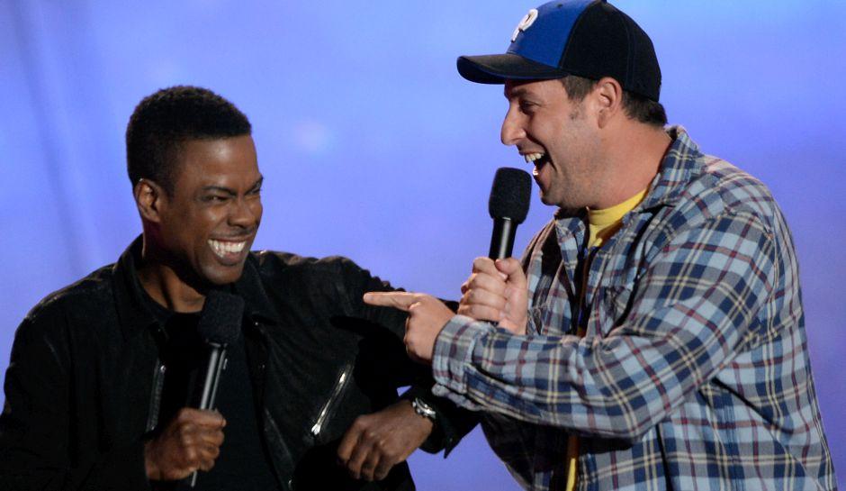 Adam Sandler e Chris Rock vão estrelar comédia da Netflix