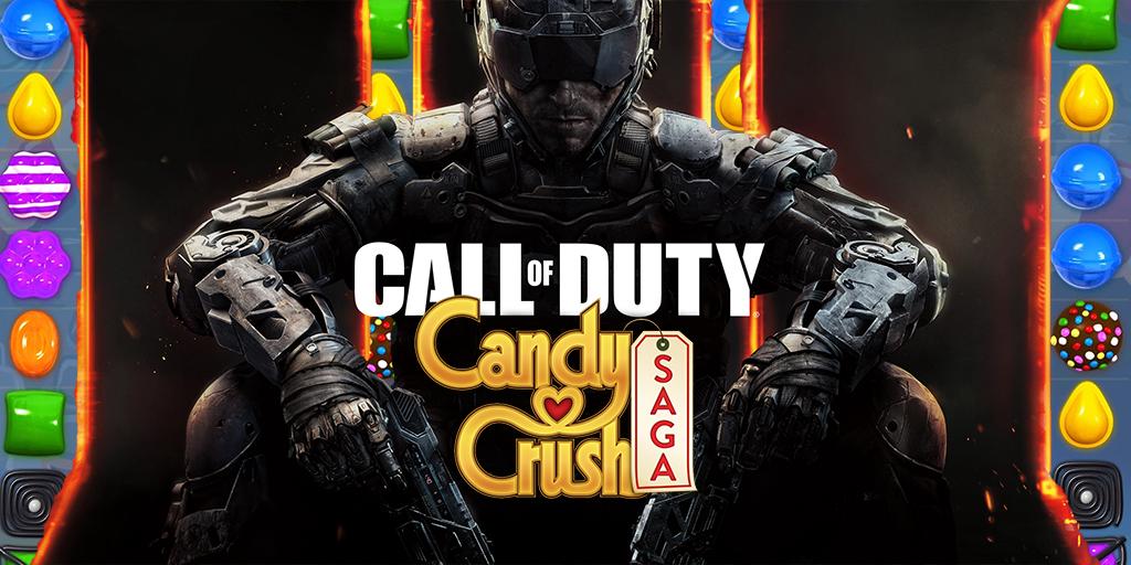 Estúdio de Candy Crush vai fazer jogo móvel de Call of Duty
