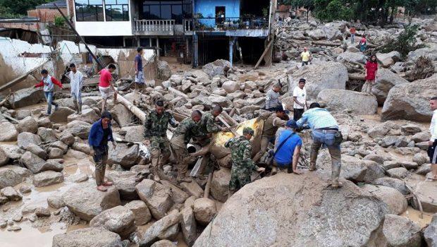 Colômbia: chuvas deixam mais de 100 mortos