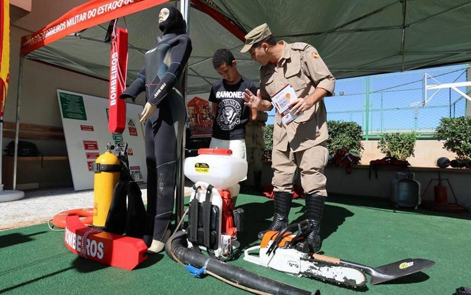 Corpo de Bombeiros lança campanha de orientação contra acidentes domésticos
