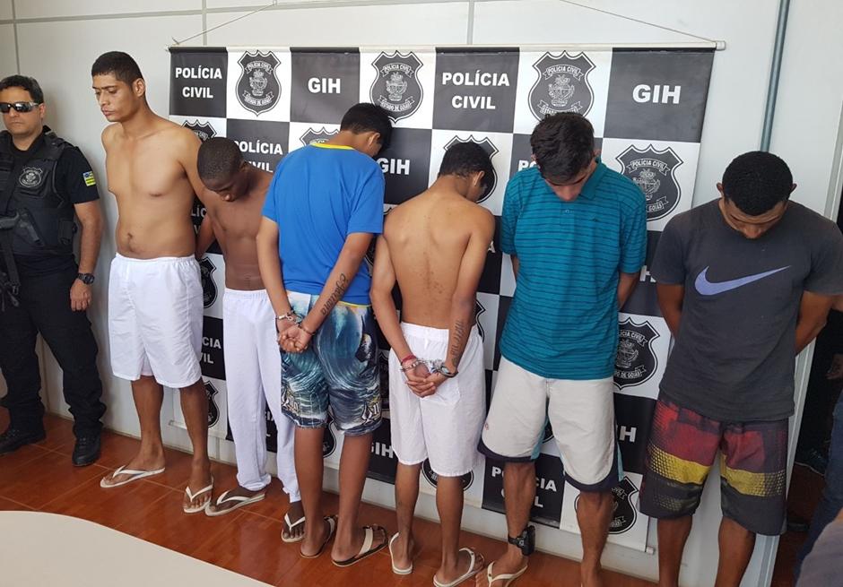 PC prende quatro suspeitos de homicídios qualificados em Novo Gama e Luziânia
