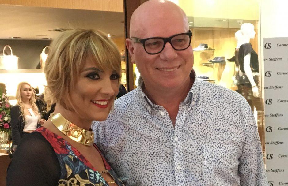 Presidente da Carmen Steffens lança nova coleção em Goiânia