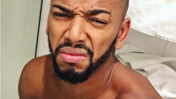 Nego do Borel posta selfie pelado no Instagram