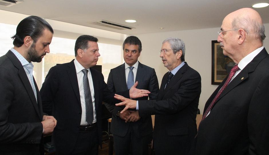 Em audiência, Marconi pede a Temer desinterdição da BRF de Mineiros