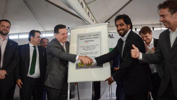 Pedra fundamental de indústria bélica é lançada em Anápolis