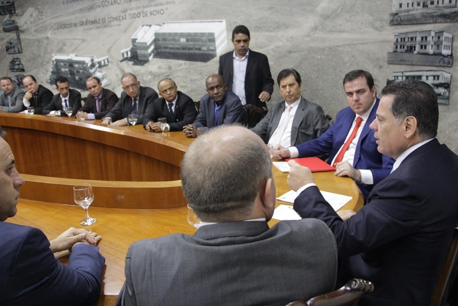 Marconi anuncia novos investimentos em Aparecida de Goiânia