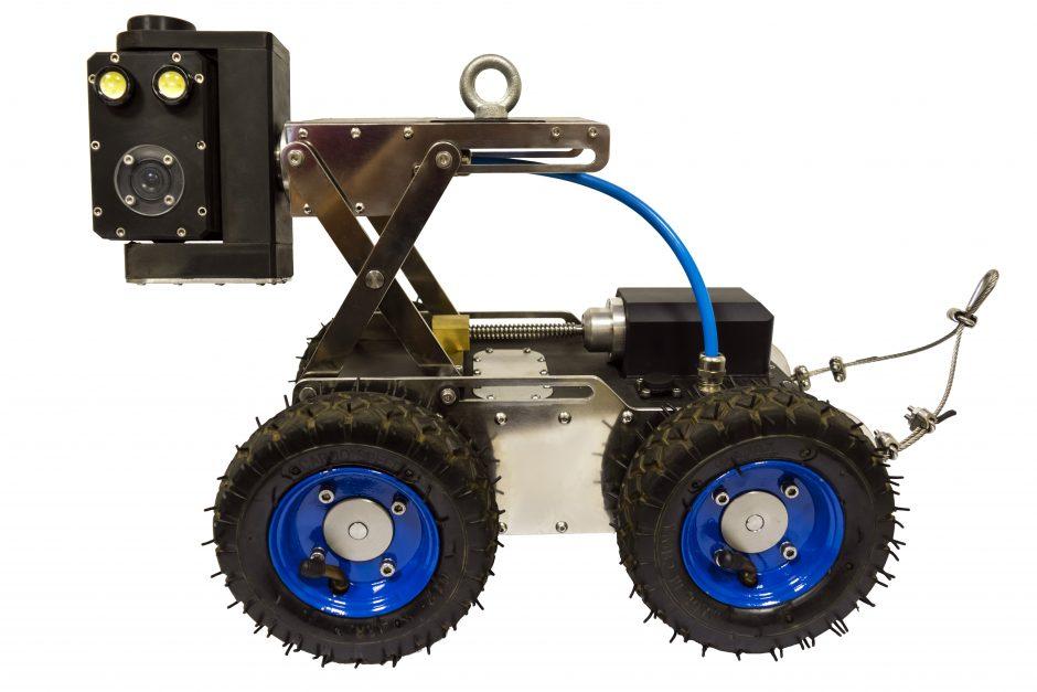 UFG cria robô para combater desperdício de água