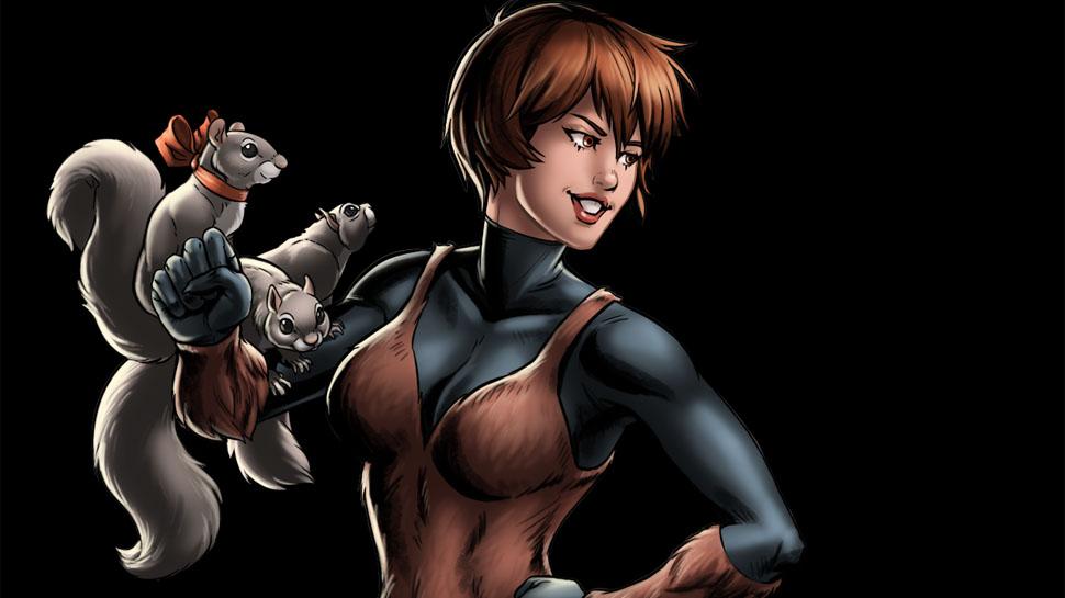 Marvel vai fazer série dos Novos Guerreiros estrelada pela Garota Esquilo