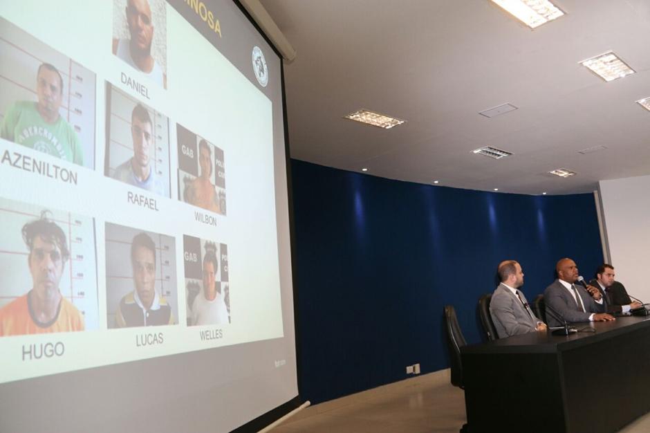 PC apresenta grupo responsável por roubos a bancos na região Norte de Goiás
