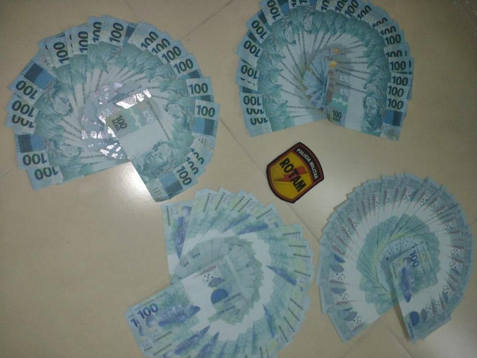 Rotam fecha fábrica de falsificação de dinheiro em Goiânia