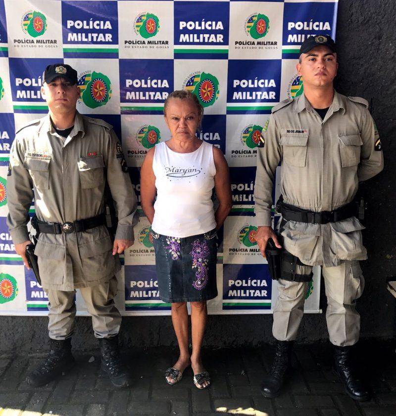 Mulher é presa por crime de tortura no Goiânia Viva