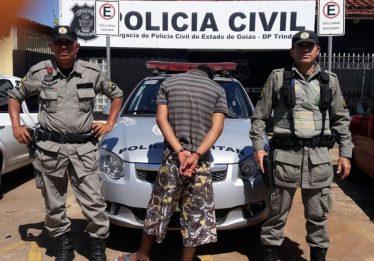 Homem que furtou escola em Trindade é preso