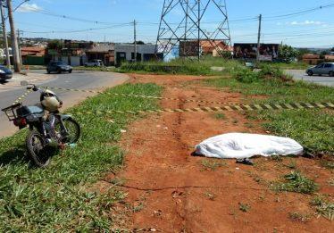 Idoso morre em acidente no Residencial Eli Alves Forte, em Goiânia