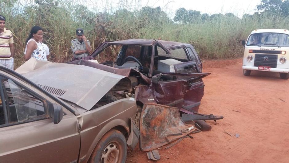 Acidente na GO-156 deixa duas vítimas fatais