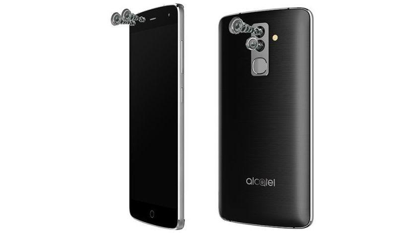 Alcatel lança celular com duas câmeras traseiras e frontais