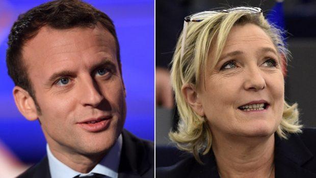 Macron tem 62% das intenções de voto contra 38% de Le Pen, diz pesquisa Ipsos