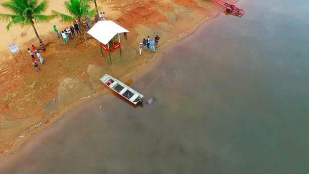 Bombeiros localizam corpo de rapaz que se afogou em lago de Nerópolis