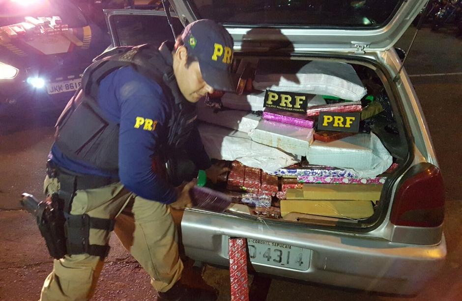 Jovens são presos com mais de 600 kg de maconha na BR-060