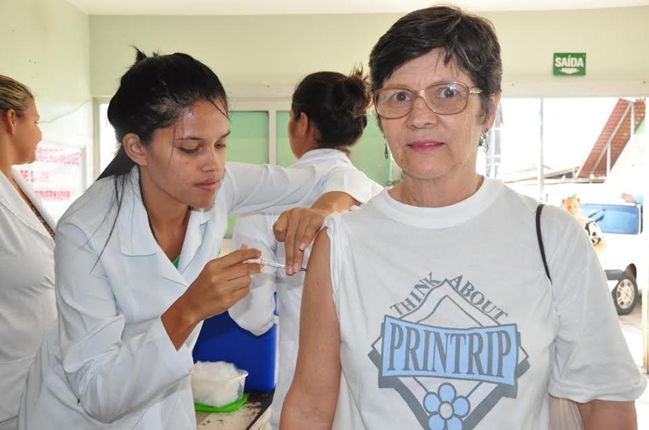 Último dia de vacinação contra influenza para idosos
