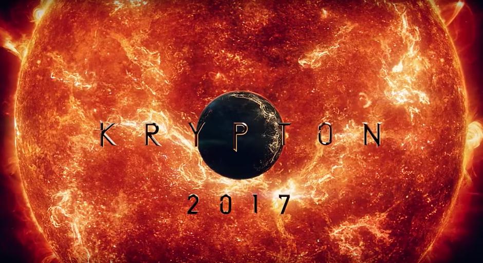 Krypton ganha primeiro trailer
