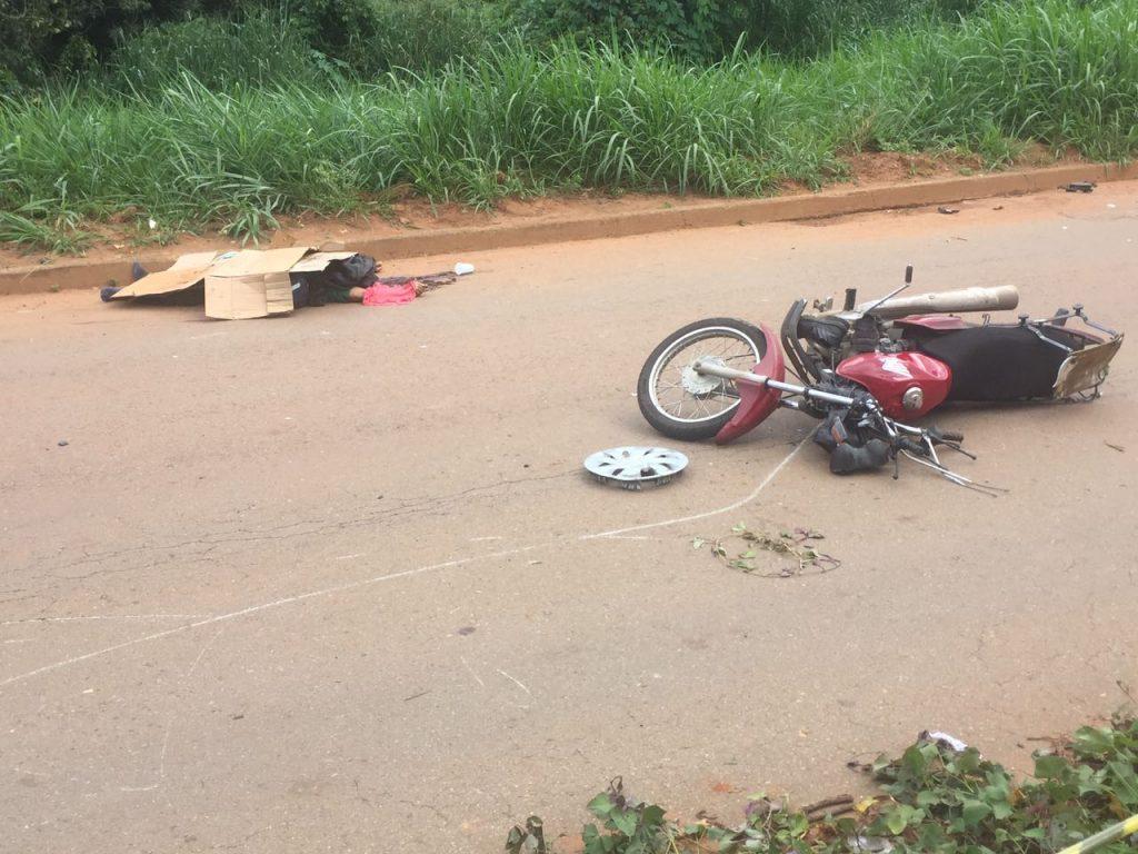 Motociclista morre em acidente na Vila Rosa, em Goiânia