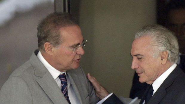 Renan Calheiros diz que 'ainda não' rompeu com Temer e compara governo à seleção de Dunga