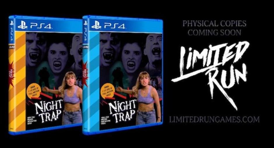 Clássico trash Night Trap vai ser lançado para PS4